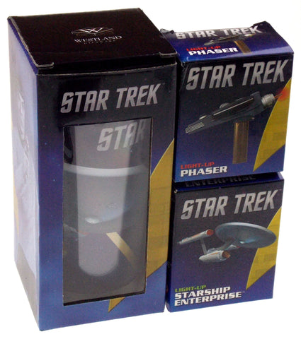 Star Trek Lovers Gift Starship Enterprise Travel Mug Light Up Phaser Model Ship - FUNsational Finds - 1
