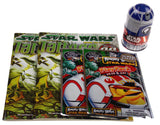 Star Wars Fun Pack Lot 5 Dice Galactic Game Play Pack Angry Birds Coloring Book - FUNsational Finds - 1