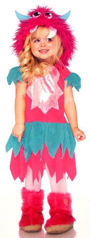 Leg Avenue Sweetheart Monster XXS 2T 3T Child Halloween Costume Cosplay Purim - FUNsational Finds - 1