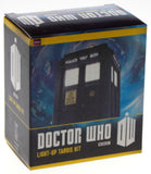 Doctor Who BBC TARDIS Light Up Mega Mini Kit Replica Toy Timeline Color Photos - FUNsational Finds - 1