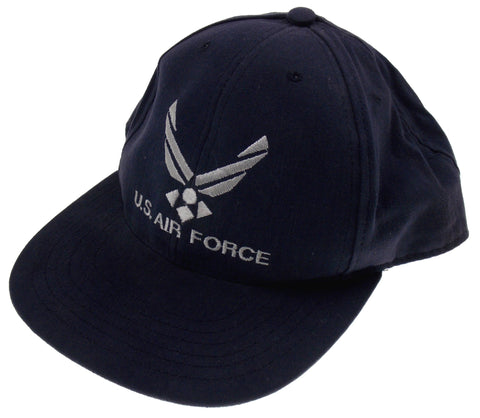 Air Force Blue Hat Baseball Cap Hat One Size Adjustable USA Embroidered - FUNsational Finds - 1