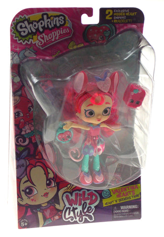 Shopkins Shoppies Wild Style Valentina Hearts Heart N Seekers Tribe