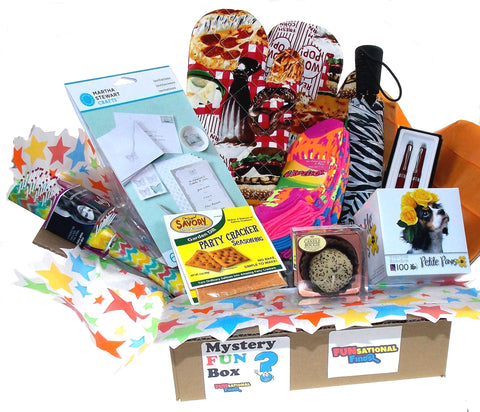 Women's Mystery FUN Box - 3 Month Subscription - FUNsational Finds - 1