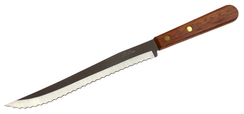 "Capco 13"" Roast Beef Ham Slicing Knife Wood Restaurant Quality Stainless Steel - FUNsational Finds - 1"