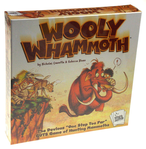 Wooly Whammoth Guts Game Smirk & Dagger Family Mammoth Kids Christmas Gift Bleau