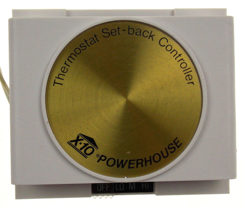 X10 Thermostat Set Back Control System TH2807-C Home Automation New in Box - FUNsational Finds - 1