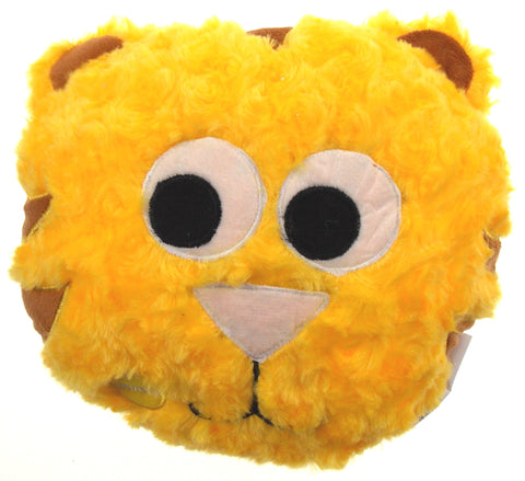 "Yellow Cat Pillow Multi Color LED Light Up Flash Plush 10"" Microbeads Home Decor - FUNsational Finds - 1"