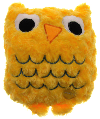 "Yellow Owl Pillow Multi Color LED Light Up Flash Plush 10"" Microbeads Bed Decor - FUNsational Finds - 1"