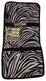 Cosmetic Makeup Bag Black White Zebra Travel Kit Folding Pouch Organizer Case - FUNsational Finds - 3