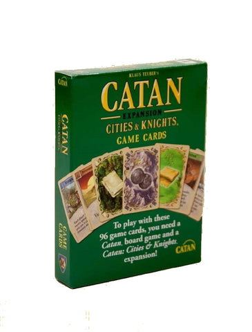 Catan Studio Cities & Knights Replacement Game Cards Progress Victory Commodity