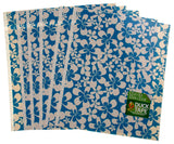 "Lot of 24 Duck Fabric Crafting Tape Sheet Blue White 8x10"" Decorate DIY Flowers - FUNsational Finds - 2"