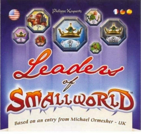 Days of Wonder Small World Leaders of Small World Expansion Leader Tokens