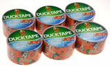 "Disney Phineas & Ferb Duck Tape Duct 1.88""x10yd Lot 6 ShurTech Crafts Decorating"