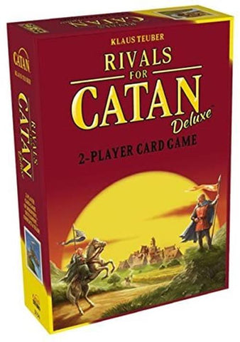 Rivals For Catan Deluxe Studio 2 Player Card Game Promo Trays Tokens Dice Index