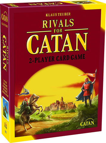 Rivals For Catan Studio 2 Player Card Game Event Die Commerce Knight Token Index