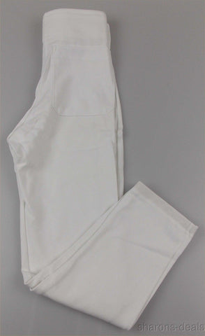 Russell Athletic Boys Baseball Softball Pants White Snap Zipper Elastic USA SM - FUNsational Finds - 1