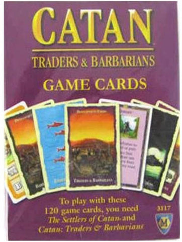 Catan Studio Traders and Barbarians 120 Replacement Game Cards CN3123