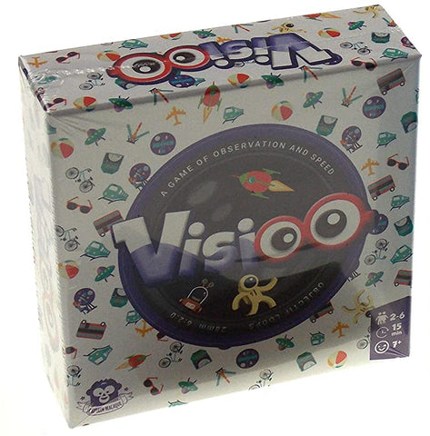 Captain Macaque Visioo Card Game Family Kids Observation Speed Asmodee Sealed
