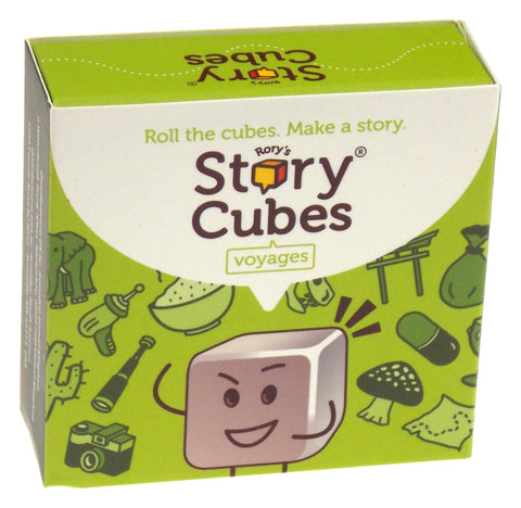 Rorys Story Cubes Voyages Zygomatic Set 9 Cubes 54 Images Family Game Education