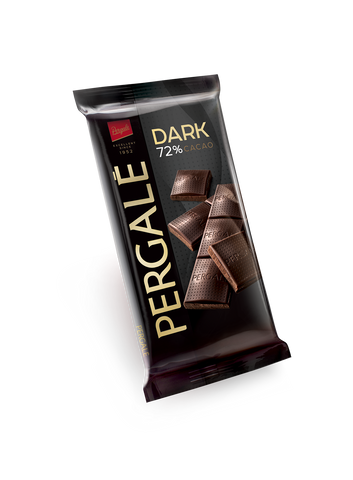 Pergale Dark Chocolate 72% Cocoa 100g
