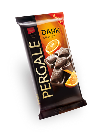 Pergale Dark Chocolate with Orange Filling 100g