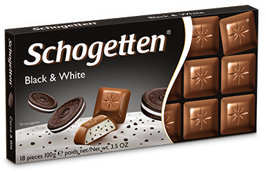 Black & White Milk Chocolate 100g