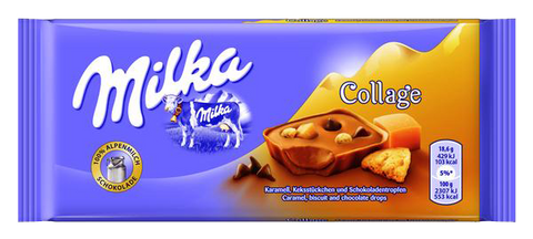 Milka Collage Fudge