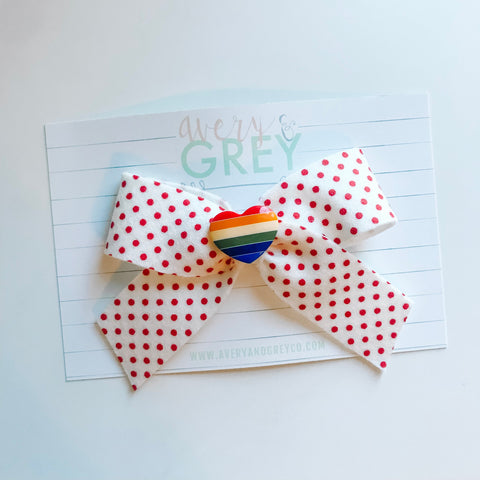 Rainbow Bright School Girl Bow