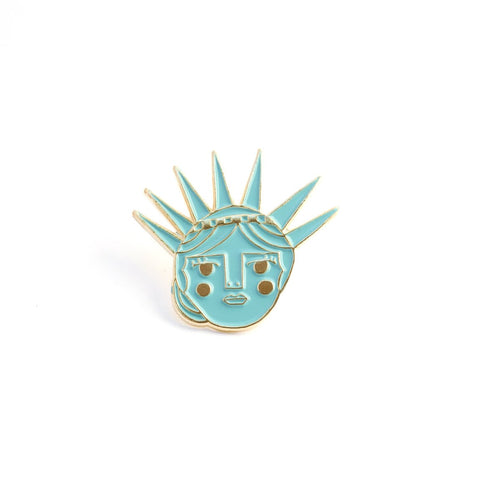Lady Liberty Enamel Pin