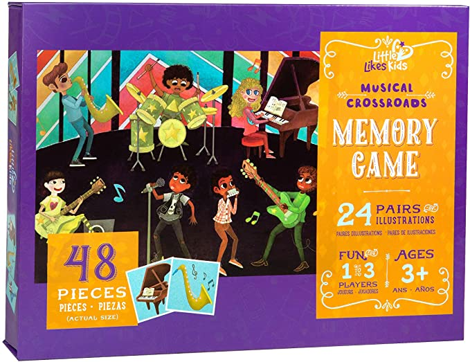 Musical Croasroads Memory Game