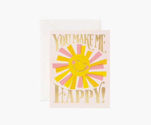You Make Me Happy- Card