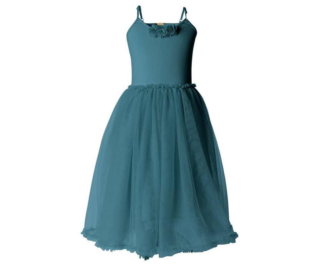 Ballerina Dress- Petrol