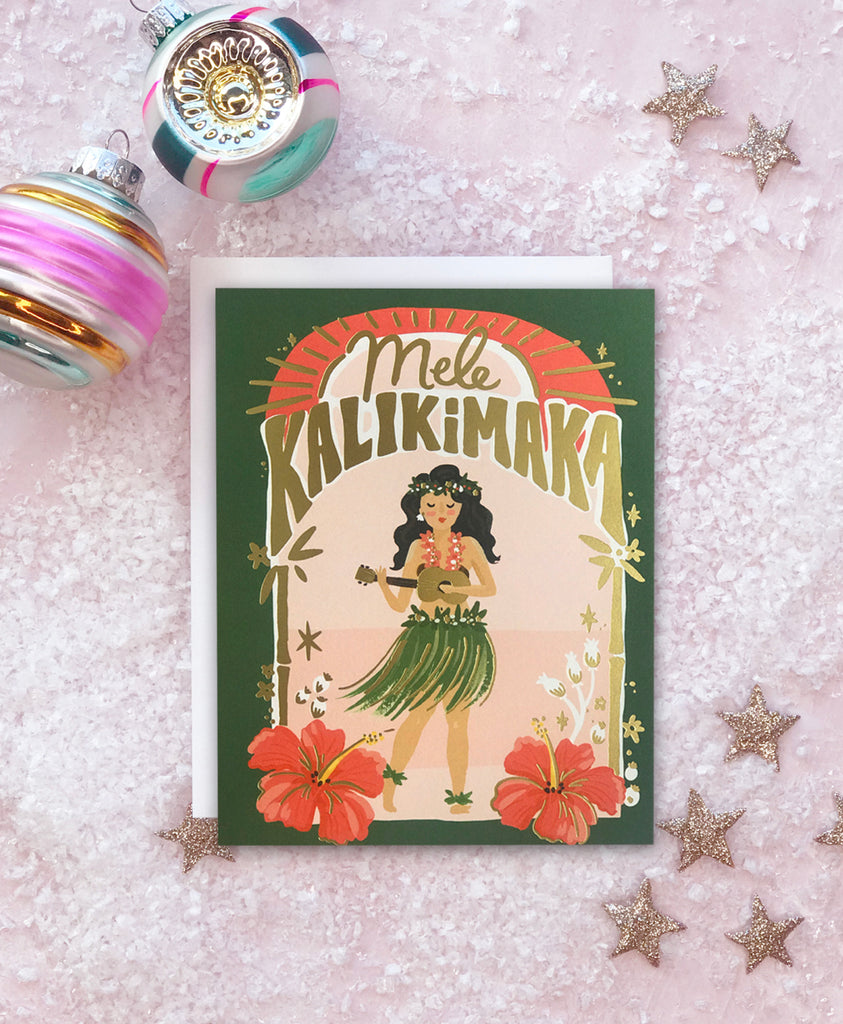 Mele Kalikimaka Holiday Card