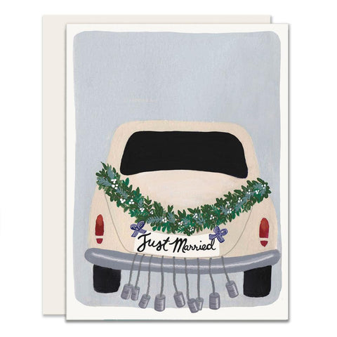 Getaway Car Greeting Card