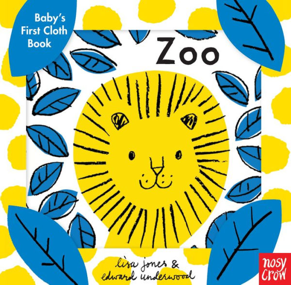 Baby's First Cloth Book- Zoo