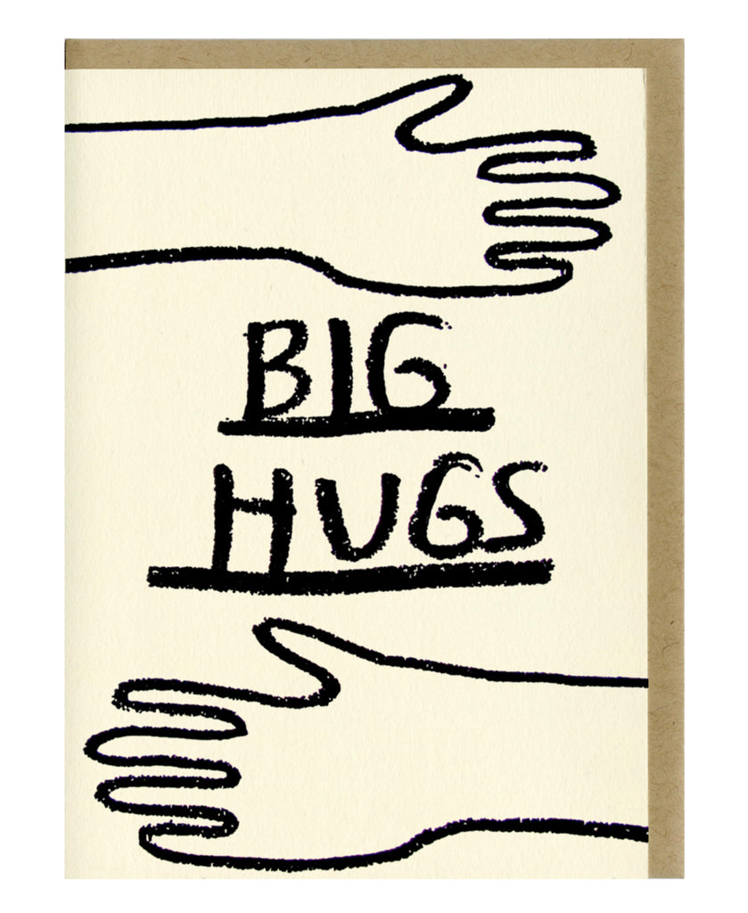 Big Hugs- Greeting Card