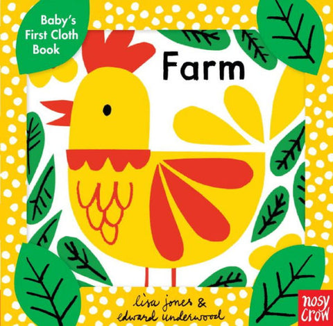 Baby's First Cloth Book- Farm
