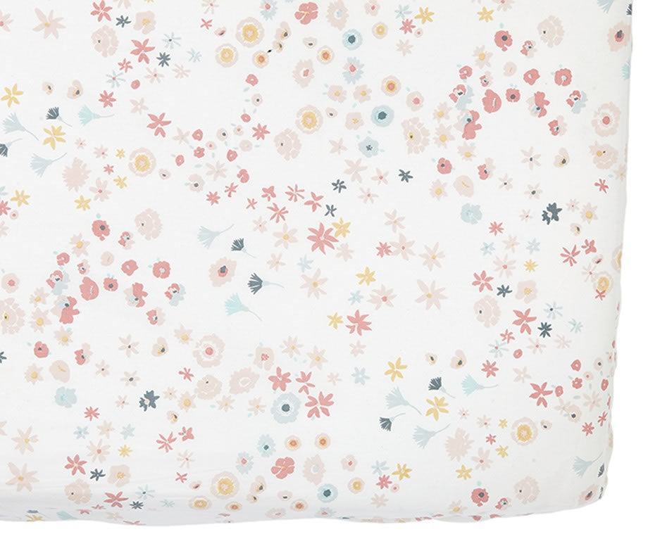 meadow crib sheet