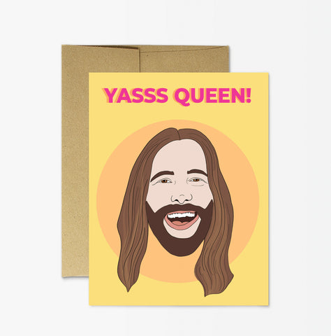 "JVN ""Yas Queen"" Card"