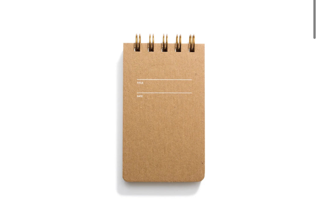Reporter Notebook Lined- Kraft