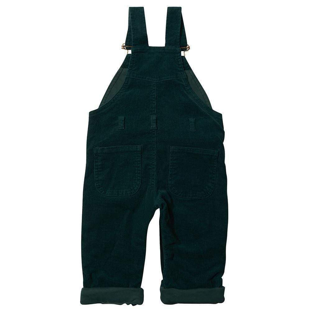 Moss Green Corduroy Dungarees
