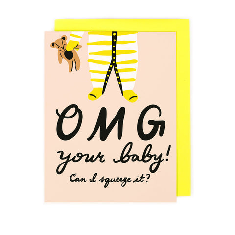 Baby Squeeze Card