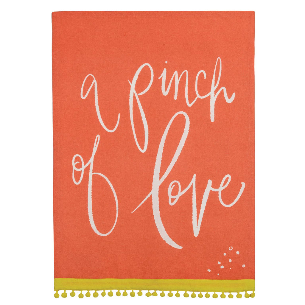 Pinch of Love Tea Towel