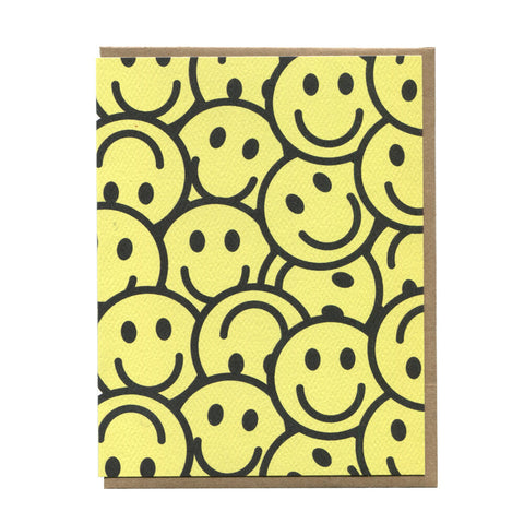 Smiley Face Greeting Card