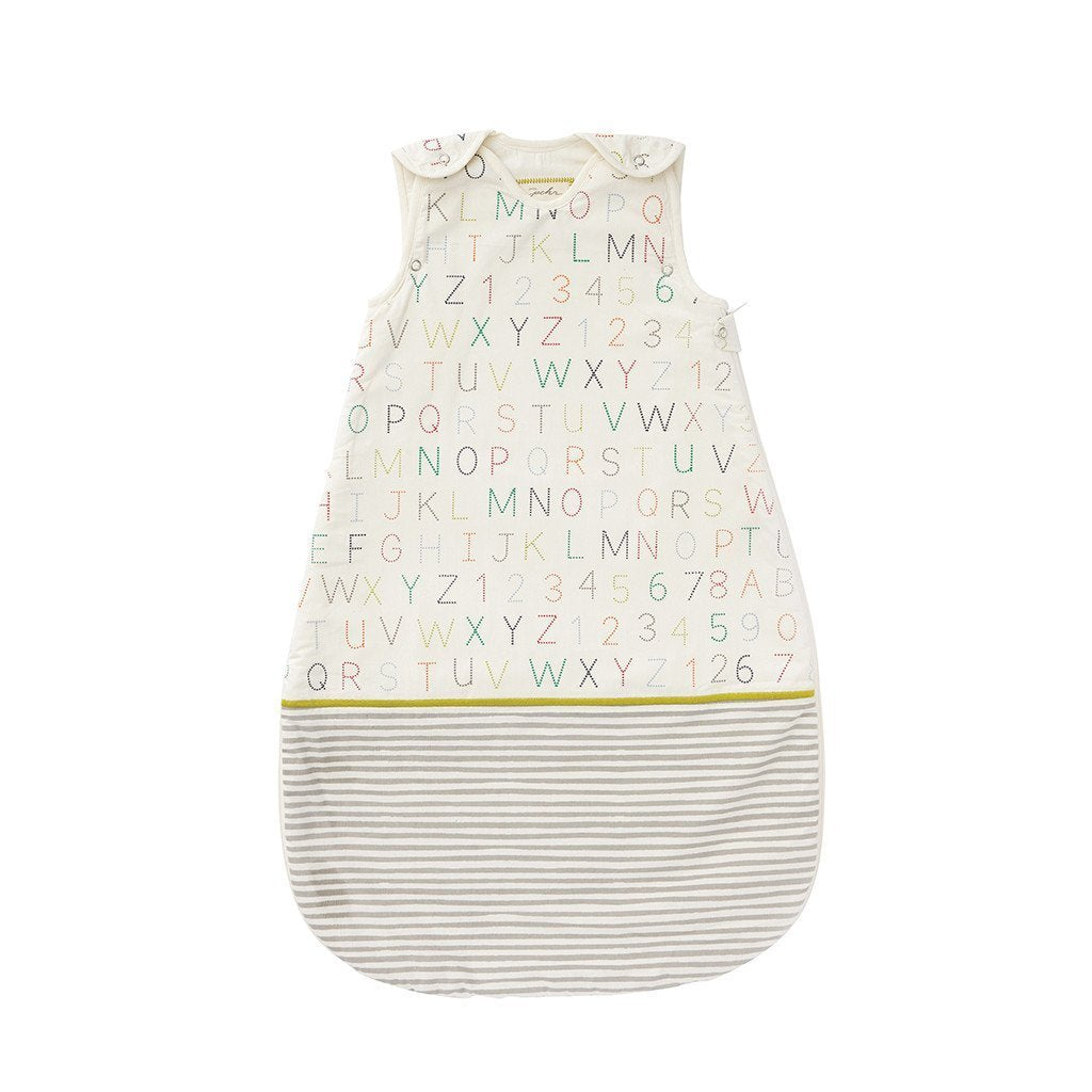 alphabet sleep bag- 9/18 month
