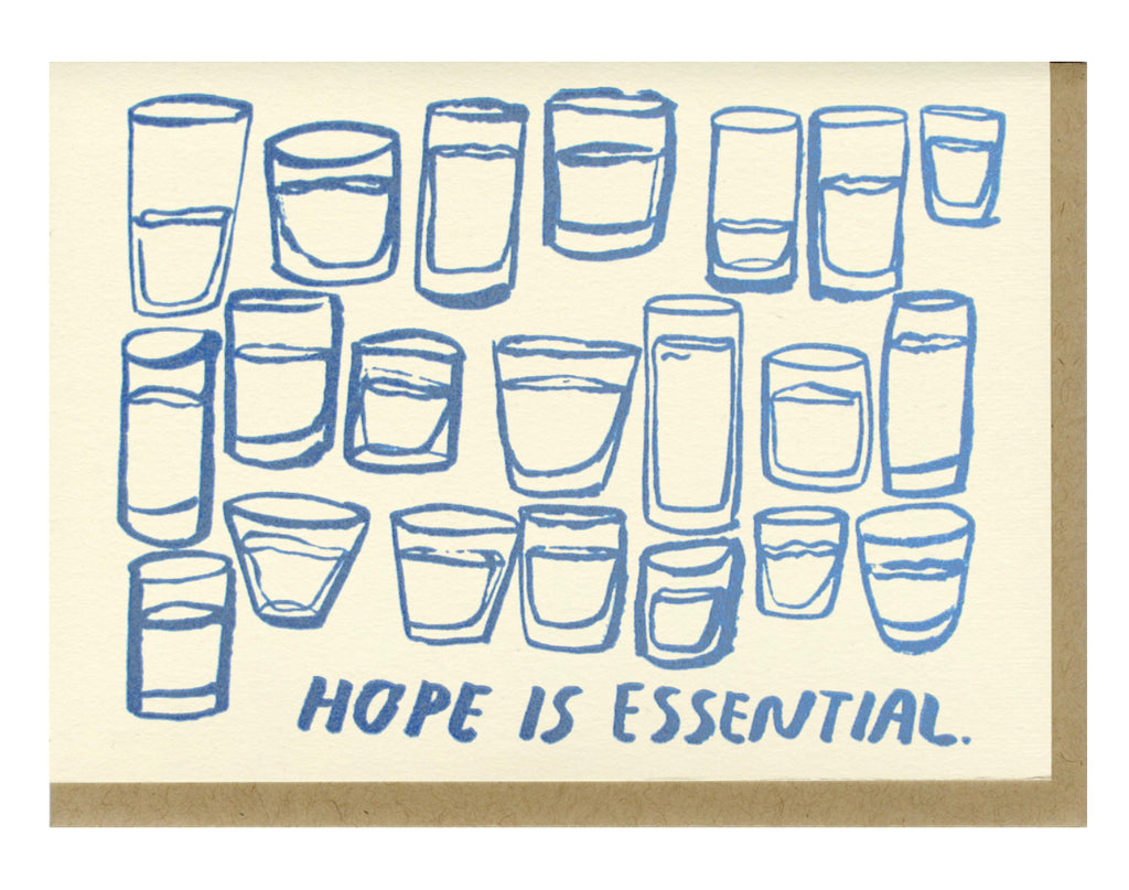 Hope Is Essential- Greeting Card