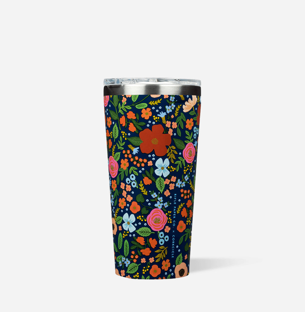 Rifle Paper Co. Wild Rose Tumbler- 16oz