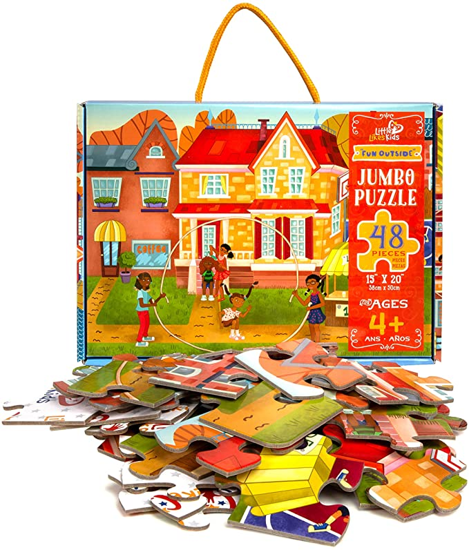 Fun Outside Jumbo 48pc Puzzle