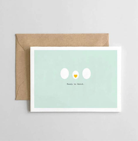 Ready to Hatch Greeting Card