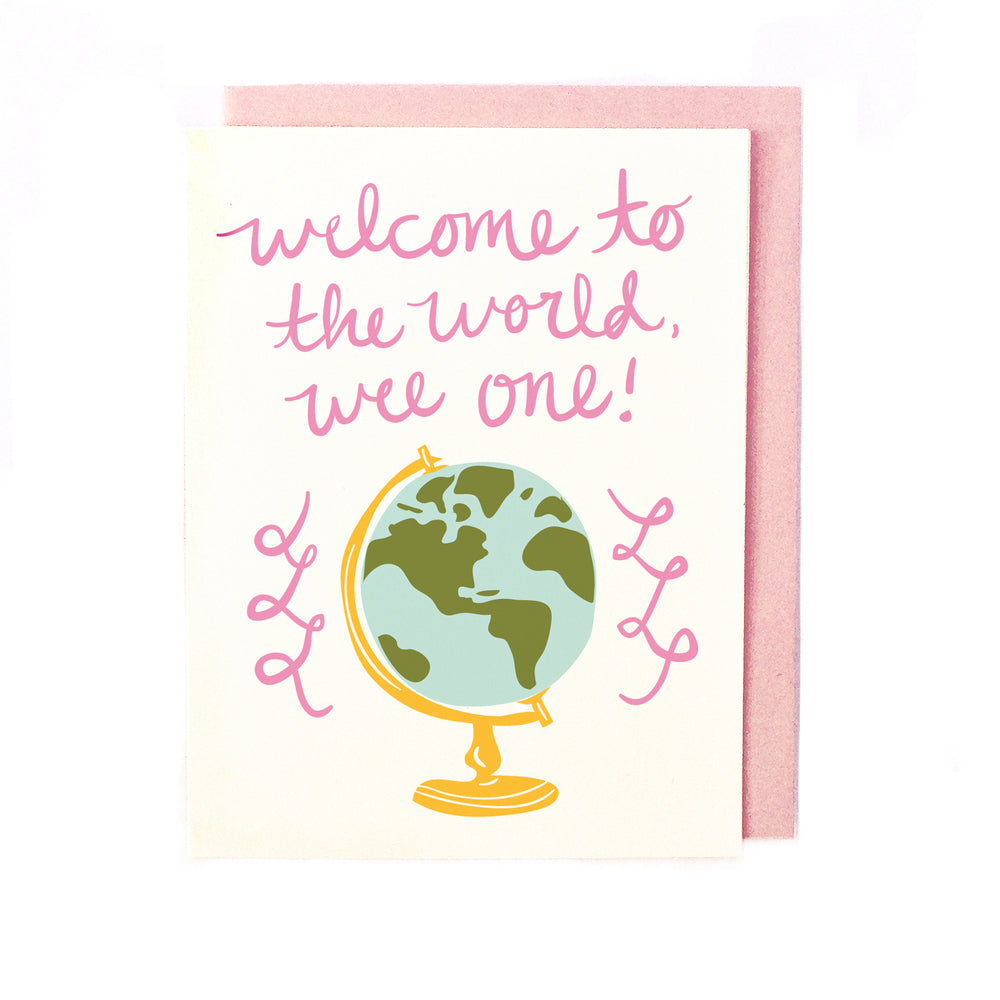 Welcome Wee One- Pink